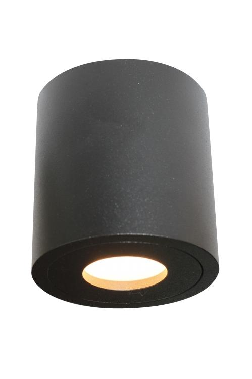lampy sufitowe czarne ip44 50w