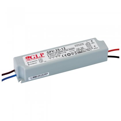 GLP ZASILACZ LED 36W 12V IP67